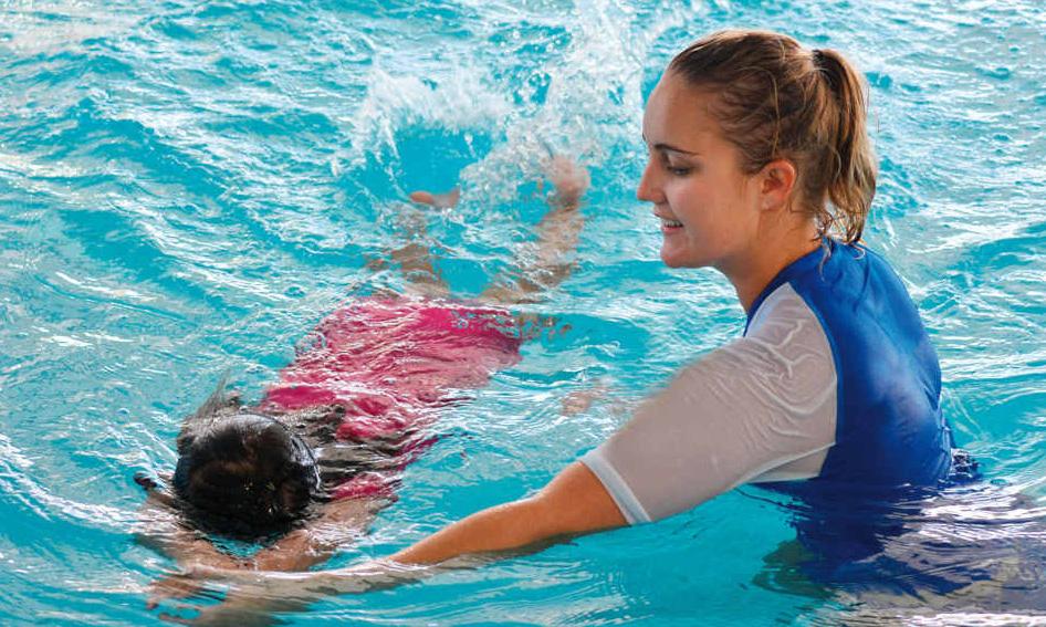 Cours de natation enfants à caluire